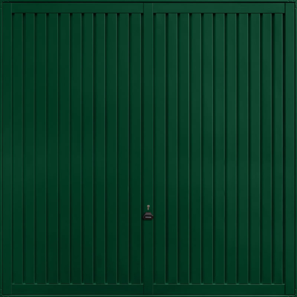 Sutton Fir Green Garage Door