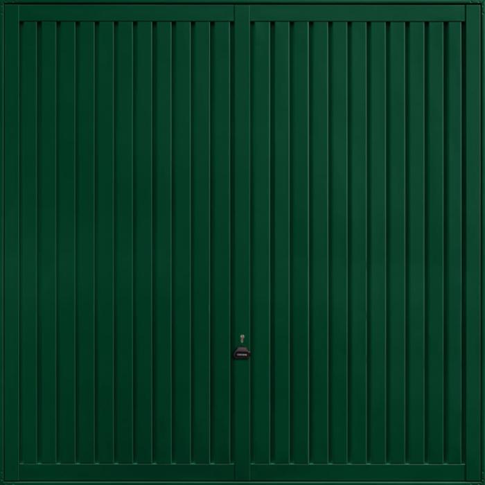 Sutton Fir Green Garage Door