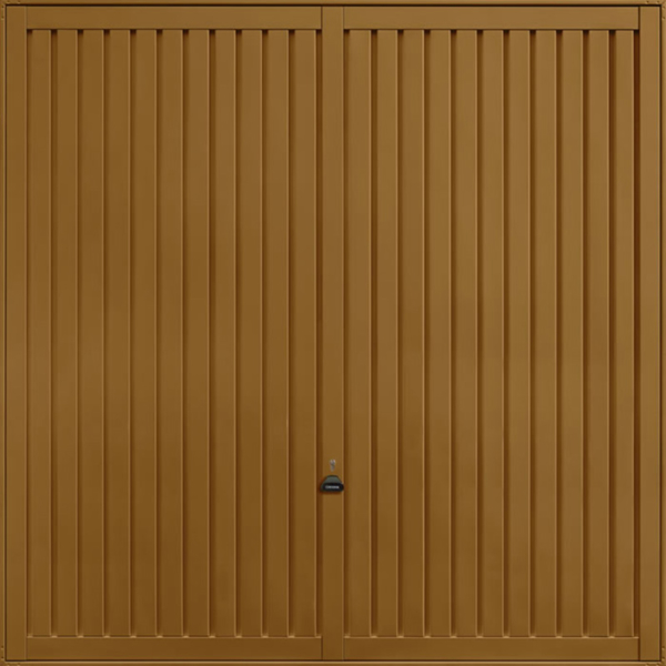 Sutton Golden Oak Garage Door