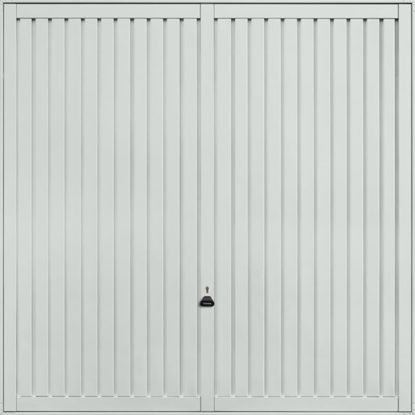 Sutton Light Grey Garage Door