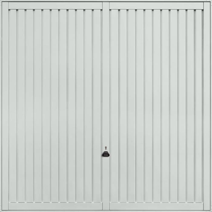 Sutton Light Grey Garage Door