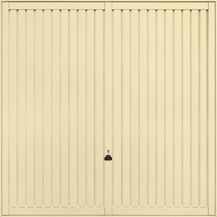 Sutton Light Ivory Garage Door
