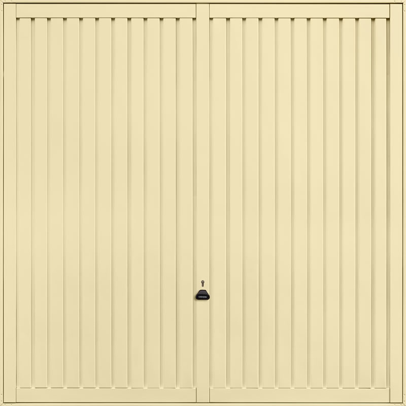 Sutton Light Ivory Garage Door