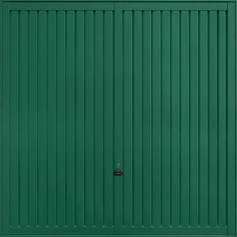 Sutton Moss Green Garage Door