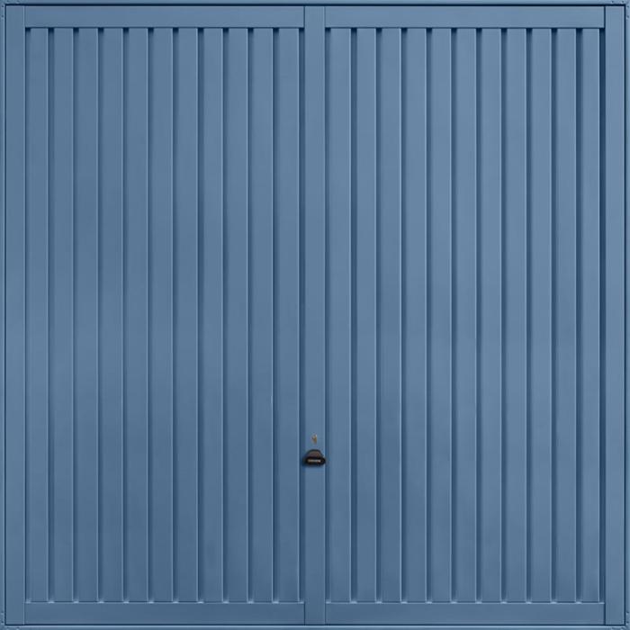 Sutton Pigeon Blue Garage Door