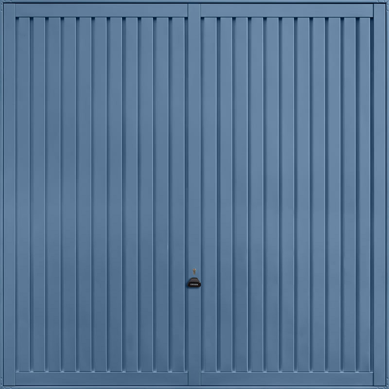 Sutton Pigeon Blue Garage Door
