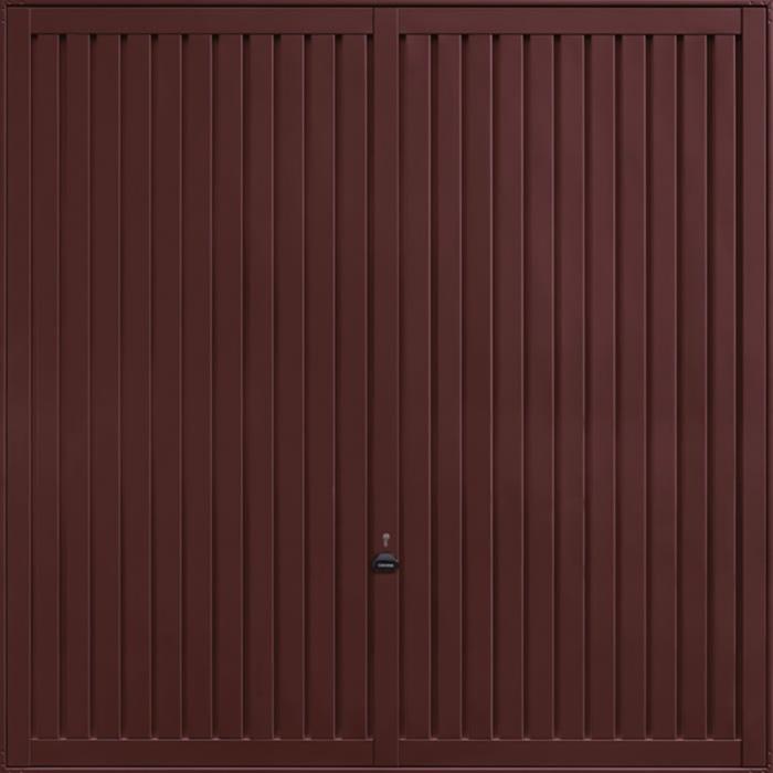 Sutton Rosewood Garage Door