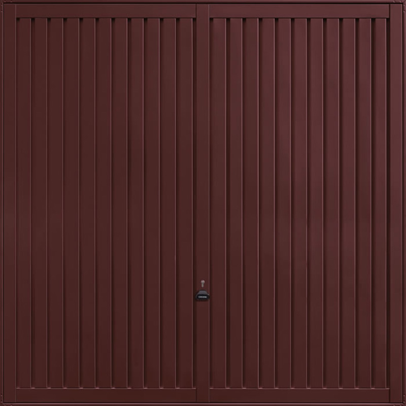 Sutton Rosewood Garage Door