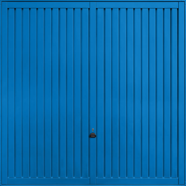 Sutton Signal Blue Garage Door