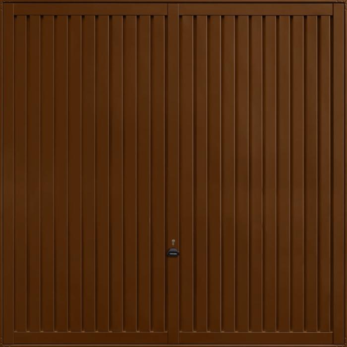 Sutton Terra Brown Garage Door