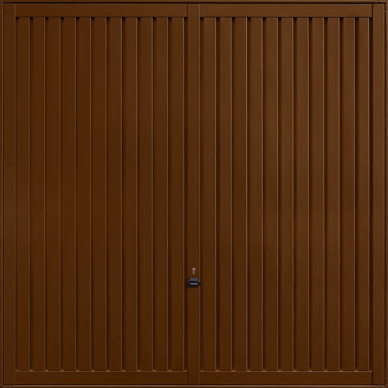 Sutton Terra Brown Garage Door