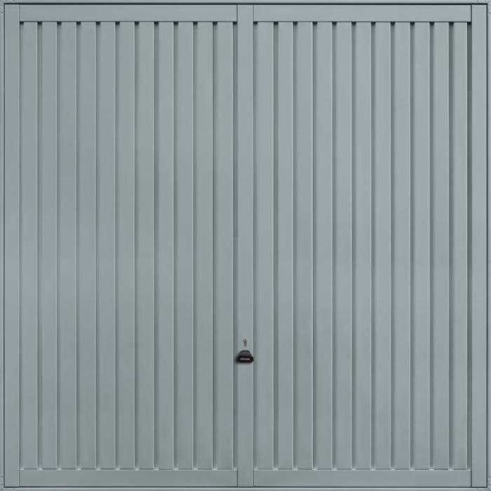 Sutton Window Grey Garage Door