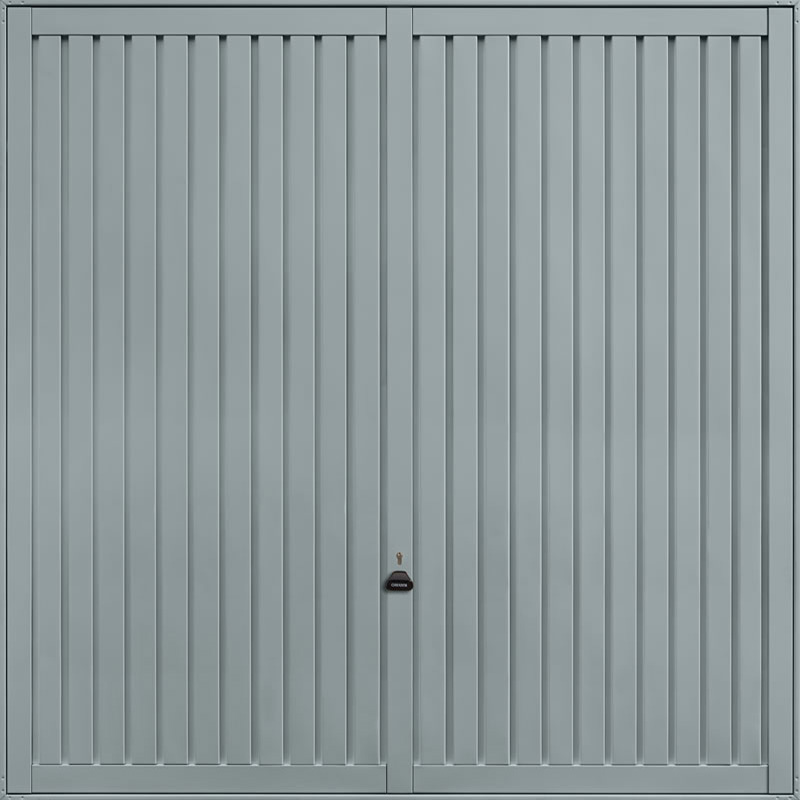 Sutton Window Grey Garage Door