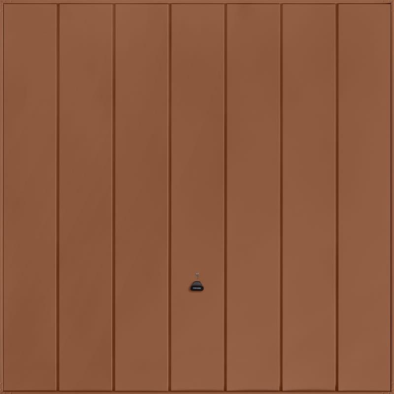 Windsor Clay Brown Garage Door