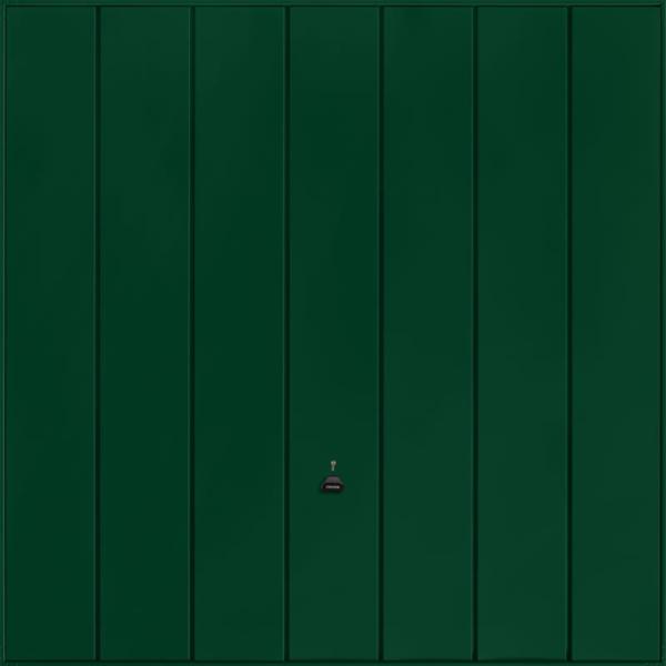 Windsor Fir Green Garage Door