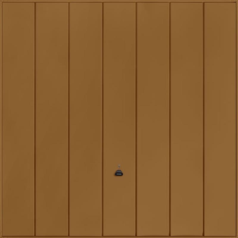 Windsor Golden Oak Garage Door
