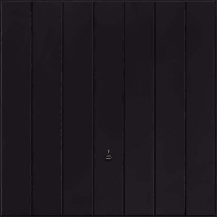 Windsor Jet Black Garage Door