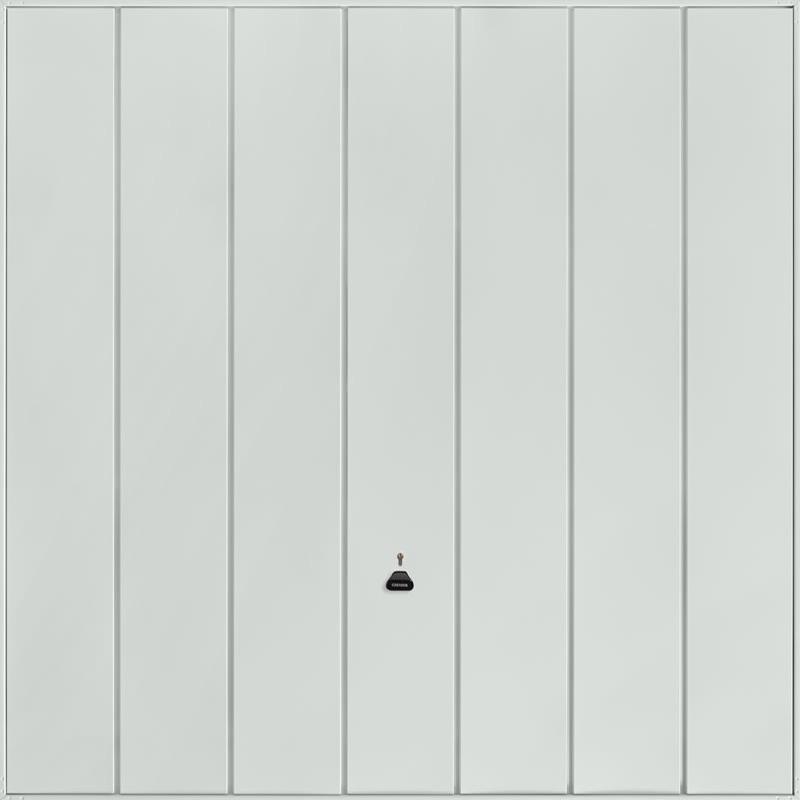 Windsor Light Grey Garage Door