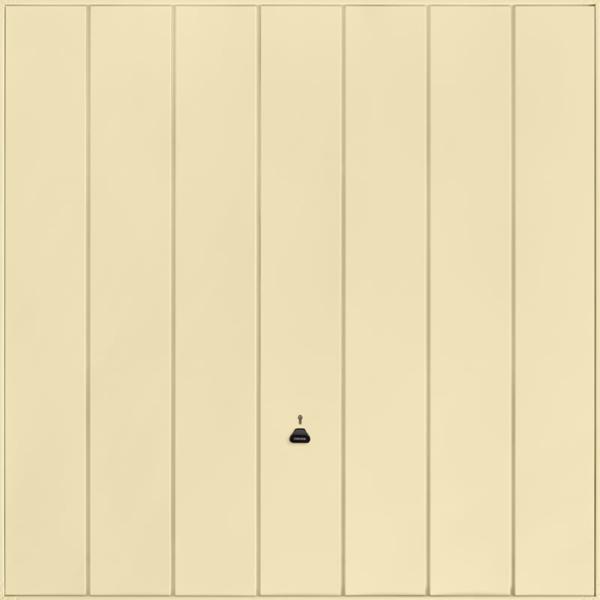 Windsor Light Ivory Garage Door