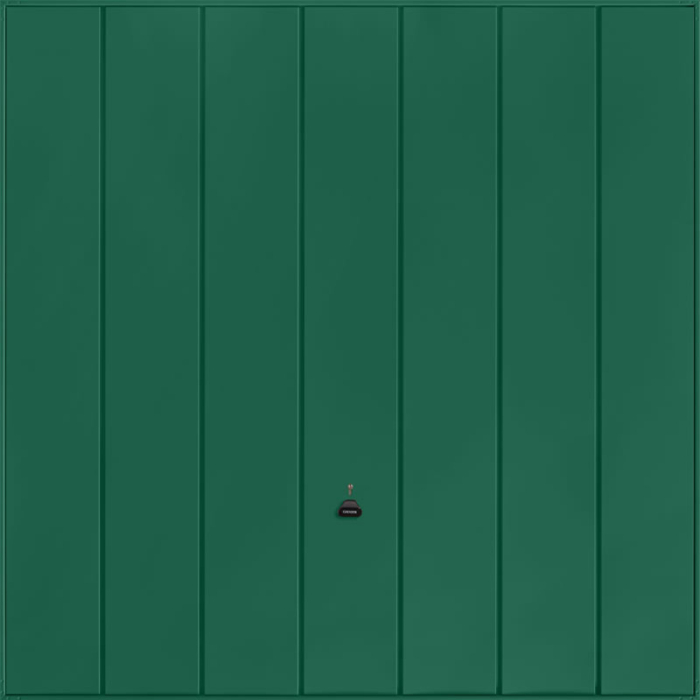 Windsor Moss Green Garage Door