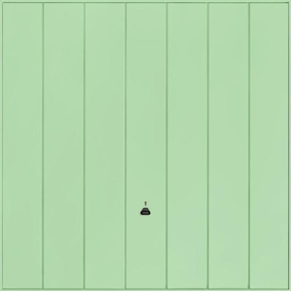 Windsor Pastel Green Garage Door