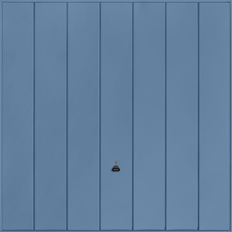 Windsor Pigeon Blue Garage Door