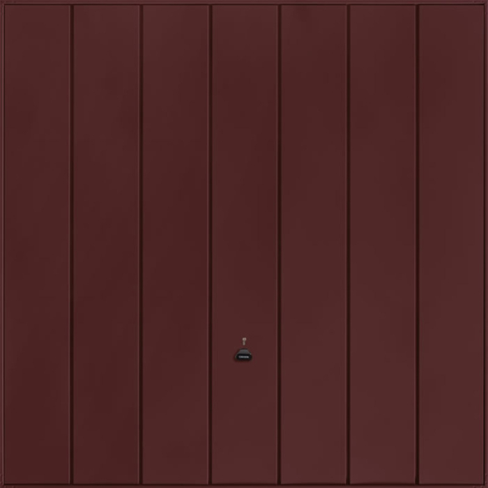 Windsor Rosewood Garage Door