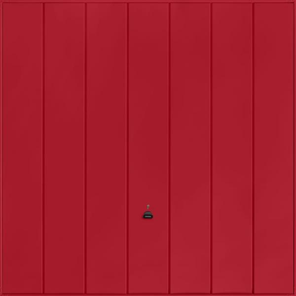 Windsor Ruby Red Garage Door