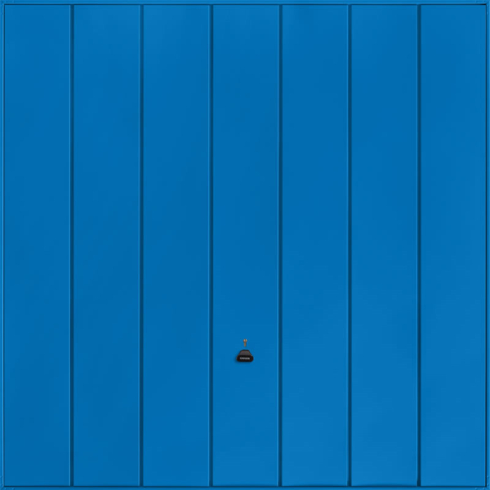 Windsor Signal Blue Garage Door