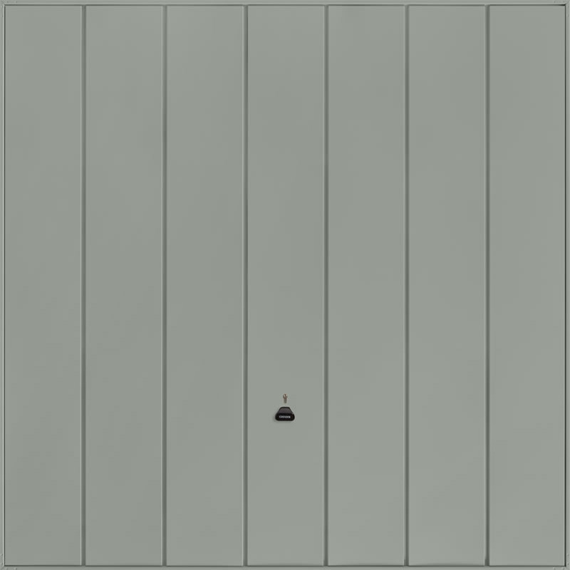 Windsor Stone Grey Garage Door