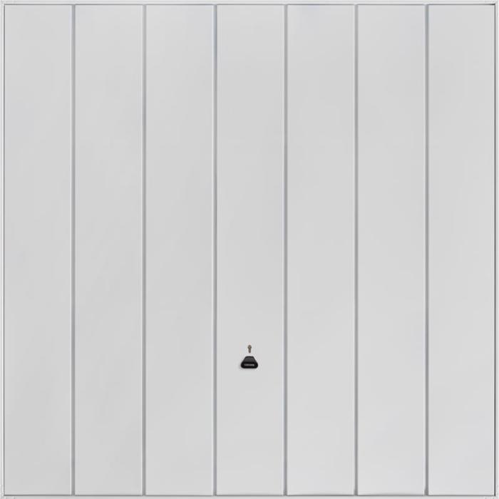 Windsor White Garage Door