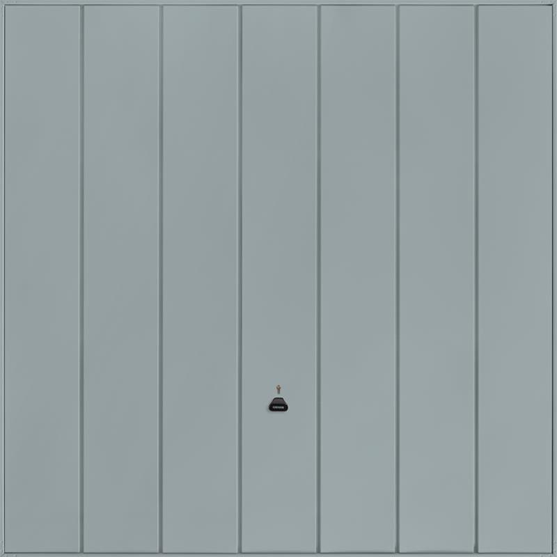 Windsor Window Grey Garage Door