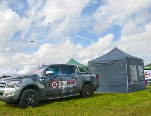 Spitfire Garage Doors at Biggin Hill Airshow 2019