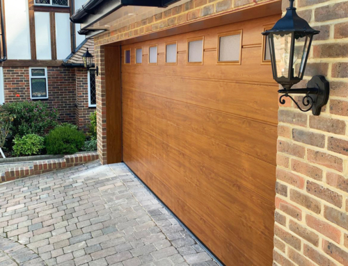 Sectional Garage Door – Orpington