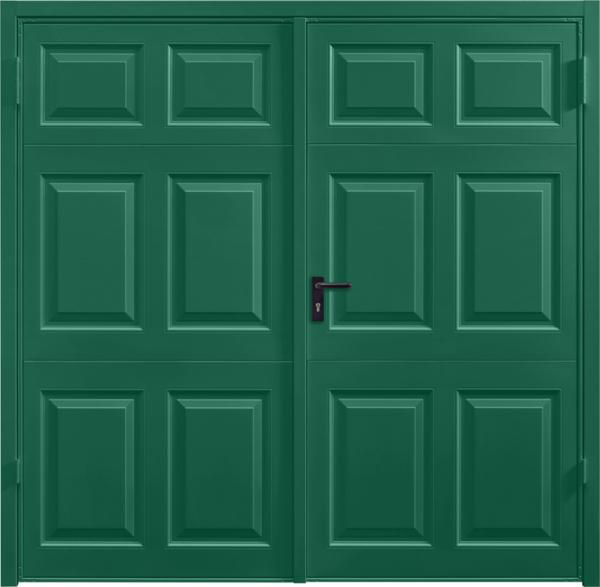 Beaumont Moss Green Side Hinged Garage Door