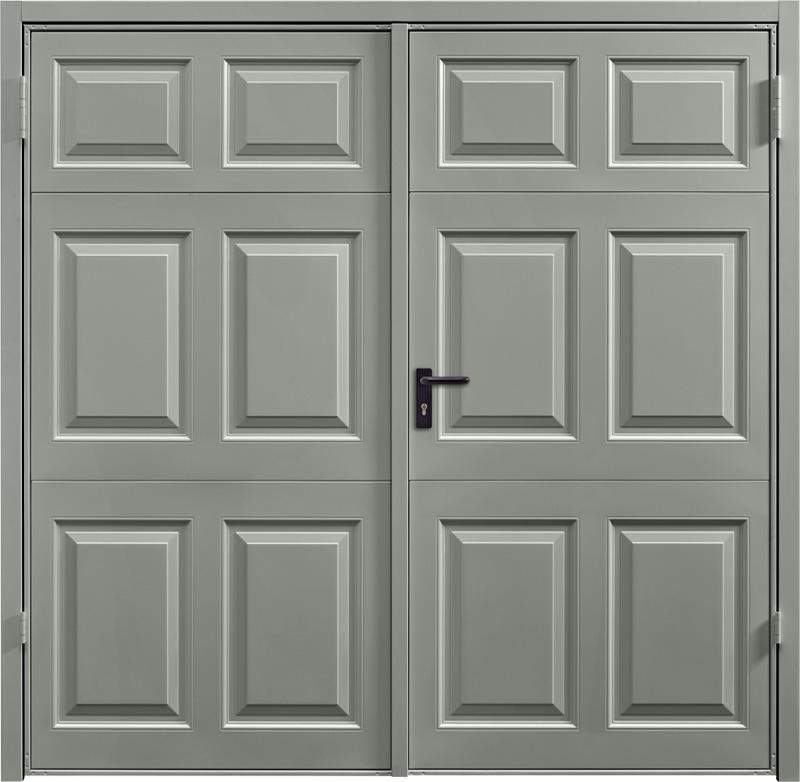 Beaumont Stone Grey Side Hinged Garage Door