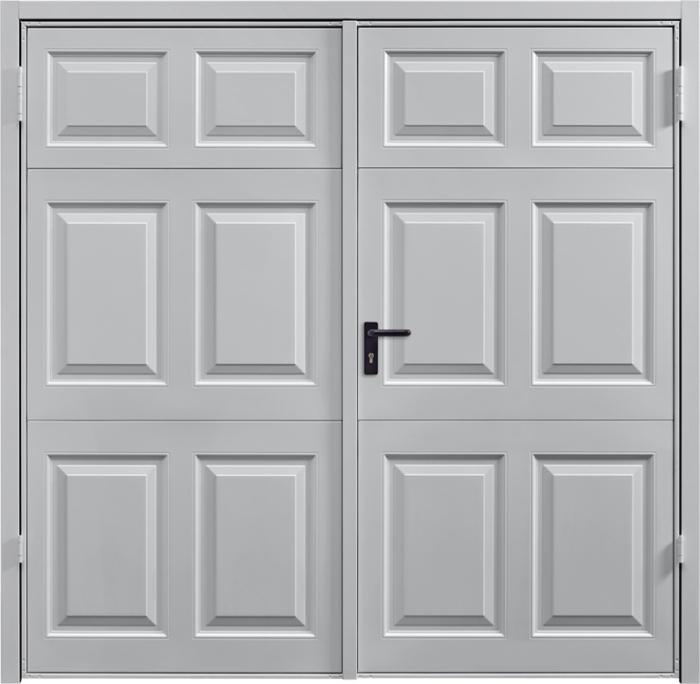 Beaumont White Aluminium Side Hinged Garage Door