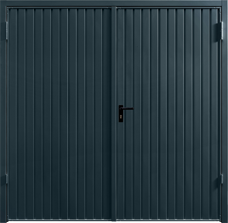 Carlton Anthracite Grey Side Hinged Garage Door