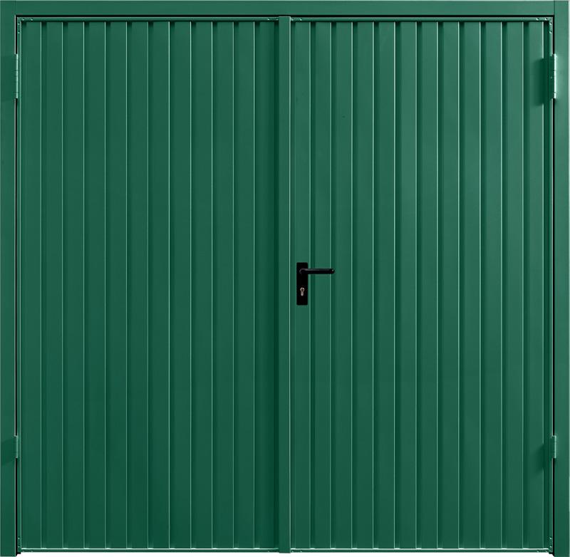 Carlton Moss Green Side Hinged Garage Door
