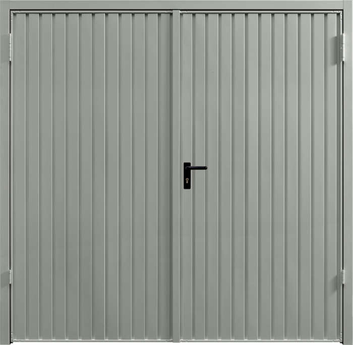 Carlton Stone Grey Side Hinged Garage Door