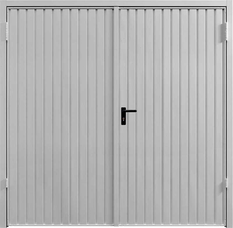 Carlton White Aluminium Side Hinged Garage Door