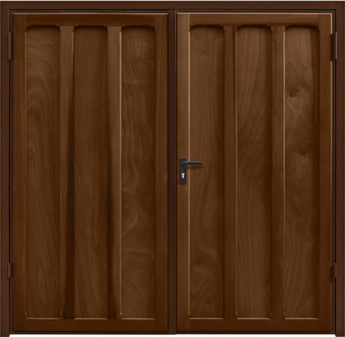 Seymour Antique Oak Side Hinged Garage Door